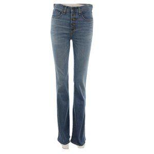 "VERONICA BEARD Beverly 10"" Skinny Flare Jeans"
